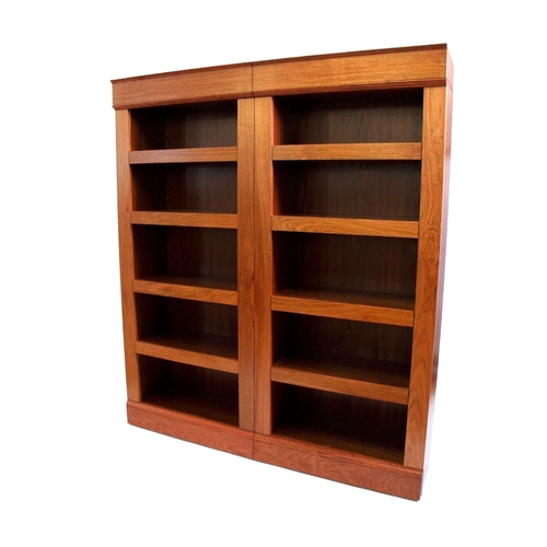 defoe furniture large bookcase library double grande bookcases beab sided products kids