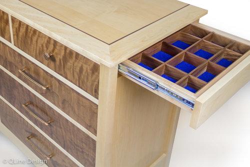 Qline Dresser With Hidden Compartments Qline Design