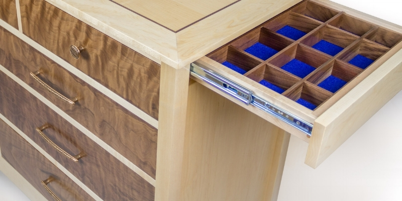 Qline Dresser. Qline Dresser. Dresser With Secret Hidden Compartments