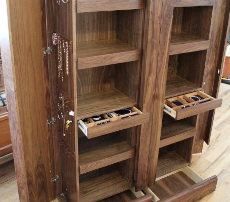 Custom concealment secret storage furniture qline design for Furniture w hidden compartments