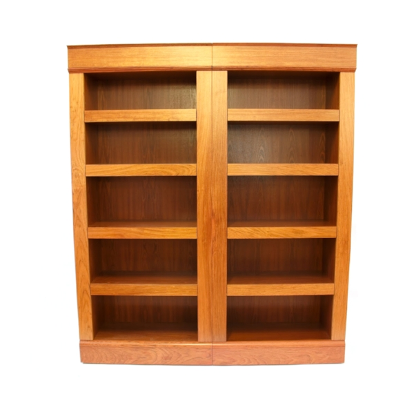 QLine SafeGuard Shelving System Double Bookcase