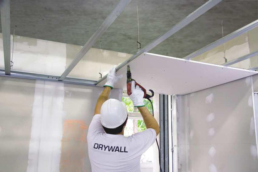 Instalação em Drywall