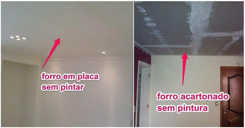 Confira as diferenças de acabamento dos produtos, antes de pintar!