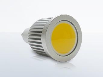Esse é um modelo de lâmpada de LED, do tipo COB, a que utilizamos atualmente!
