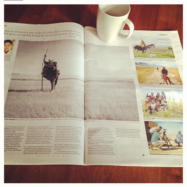 Kjøp Hamar Arbeiderblad i dag for å lese om vår siste tur til Lesotho sammen med @kathwest og @kristofferkumar