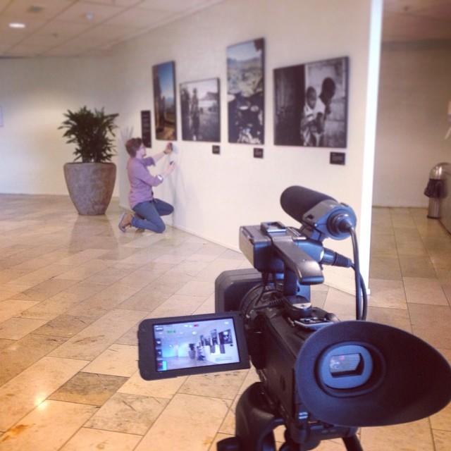 I dag har ringrev og kjernekar @ingarillos i Visma sin markedsavdeling filmet en langhåret kar fra Næroset som styret med noen bilder.. Hva blir resultatet..? Følg med!