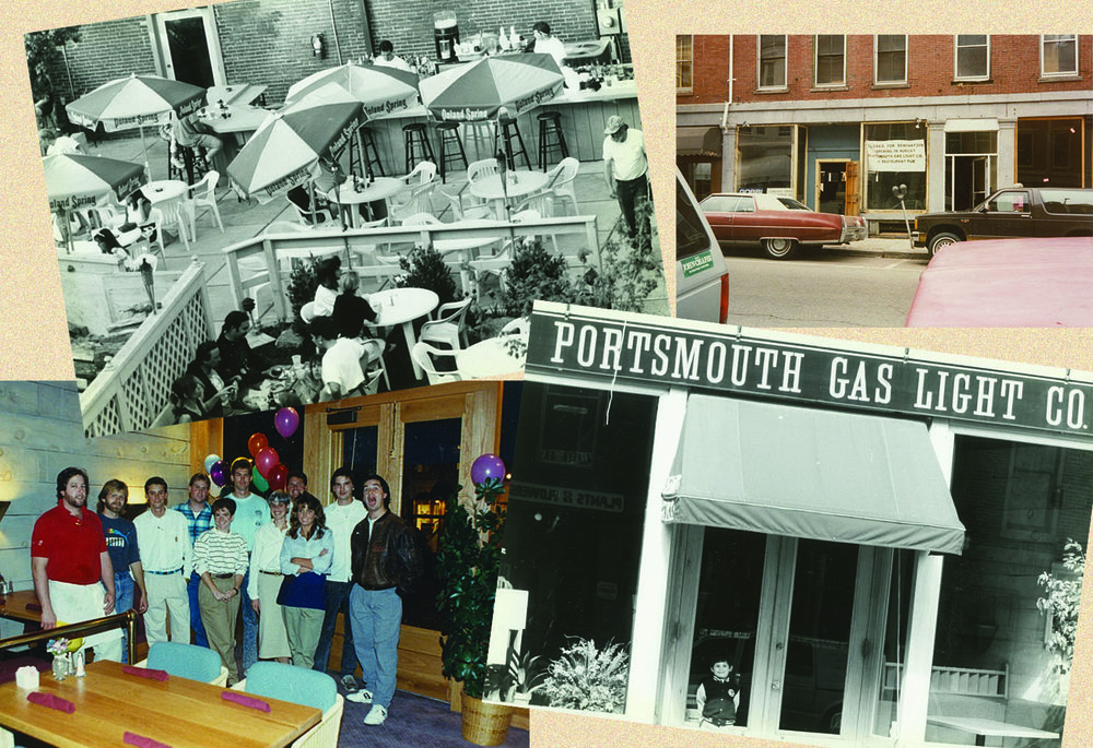 Images of the first days at the Portsmouth Gas Light Co. circa 1989.