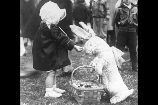 White House Easter Egg Roll , 1929;  The White House