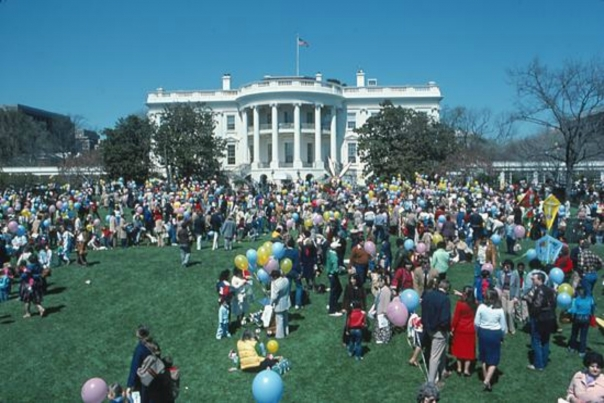 White House Easter Egg Roll, 1982; The White House