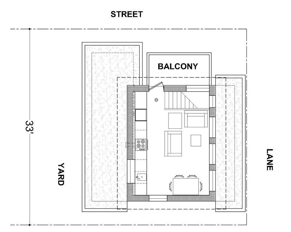 mendoza lane house floor plan 02?format=750w mcgill & slocan mendoza laneway house lanefab design build,Lane House Floor Plans