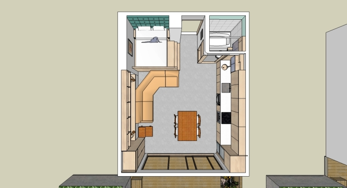 The Pod: Floor Plan
