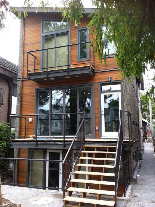 Junck Duplex Vancouver Bc Lanefab Design Build