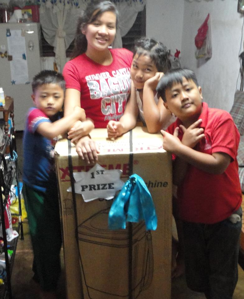 Family wins 1st prize with prayer philippines.jpg