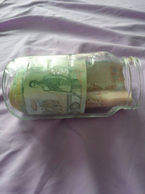 This is the piggy bank that the diamond ring appeared in.