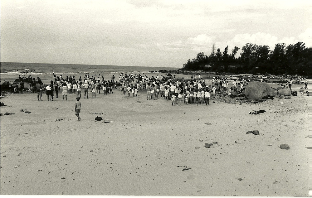 King Edward Beach, circa 1985