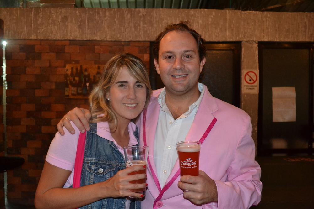 Juanchi Vélez, el abad cervecero, alma y vida de 3 Cordilleras, un proyecto con muchos socios y amigos.
