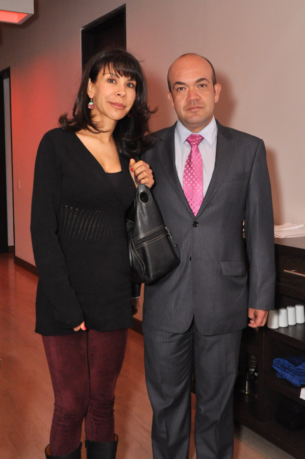 Marta Rangel y Jorge Sánchez
