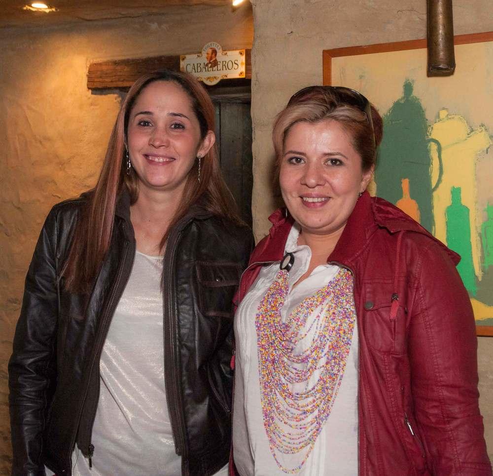 Diana Pardo y Constanza Moreno