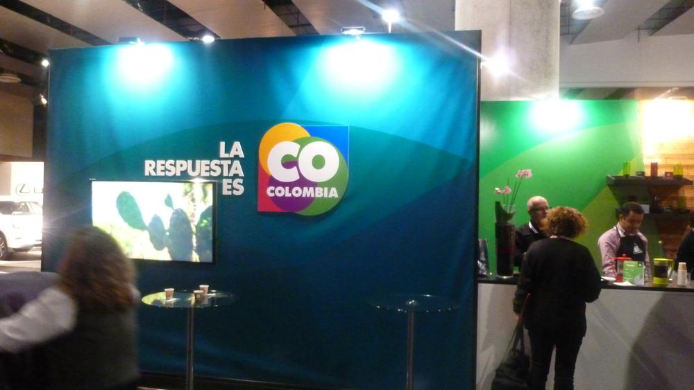 Colombia estuvo presente con el café y con los chefs Juan Manuel Barrientos y Jorge Rausch.