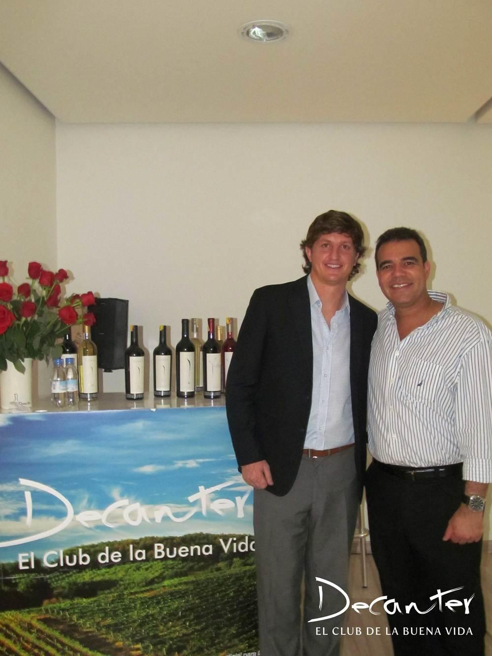 Diego Pulenta y Carlos Abad.