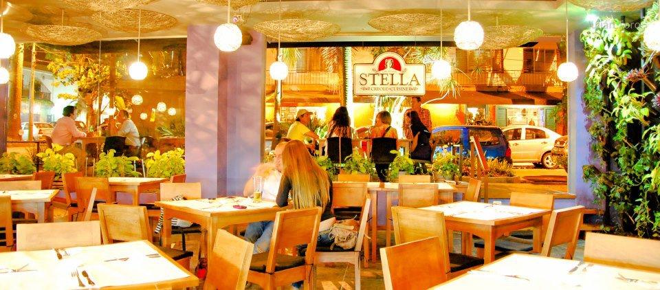Vista general del restaurante Stella, ubicado en el barrio Jardines de Envigado.