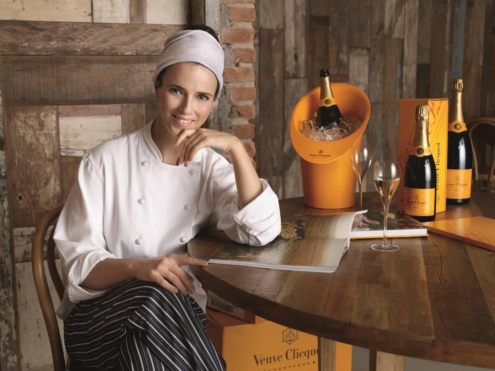 Helena Rizzo del restaurante Maní de São Paulo recibió el Premio Veuve Clicquot a la Mejor chef femenina de América Latina 2013.