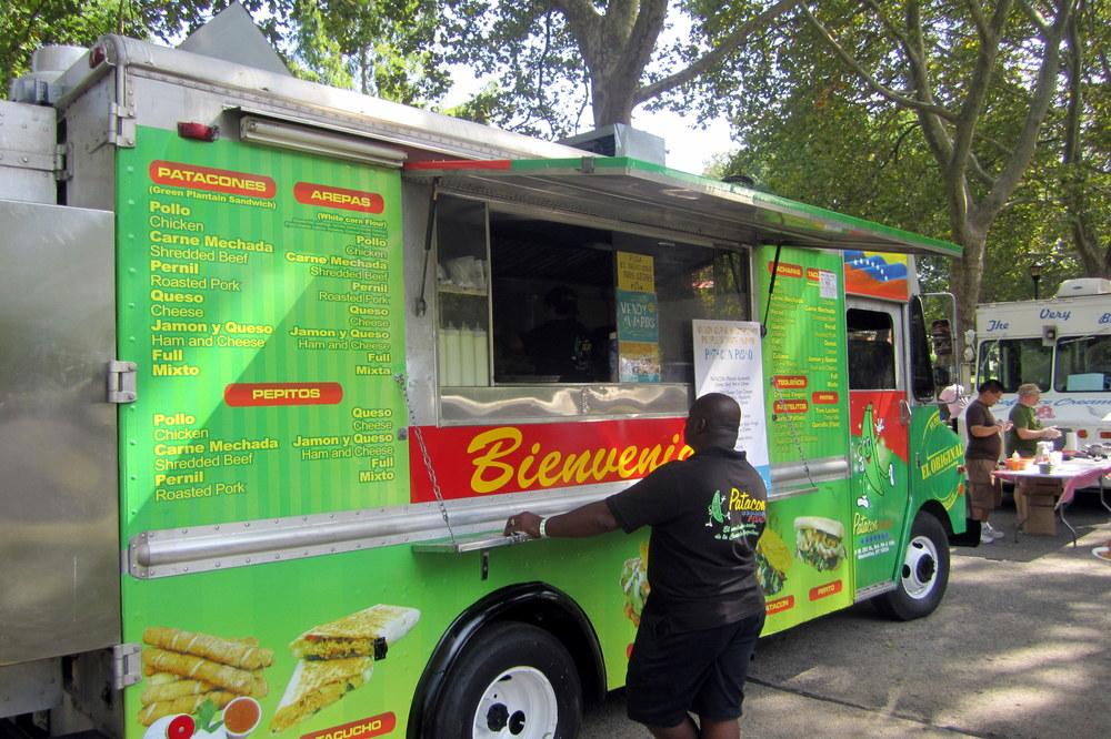 Foto:Flickr wallyg del food truck de Patacón Pisao en Nueva York.