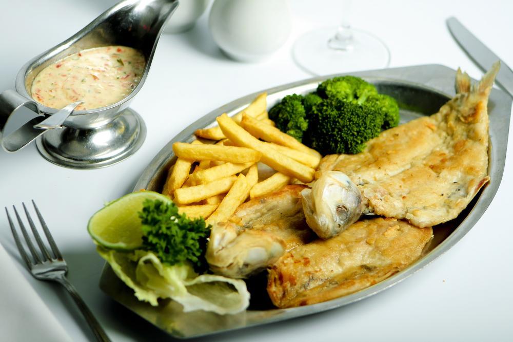 Foto:  Sabaletas del restaurante Frutos del Mar.