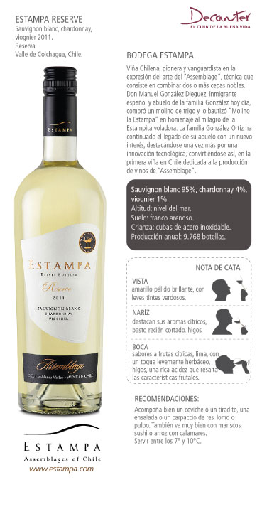 Estampa Reserve Sauvignon Blanc, Chardonnay, Viognier 2011.jpg