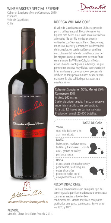 Winemaker's Special Reserve Cabernet Sauvignono:Merlot:Carmenere 2010.jpg
