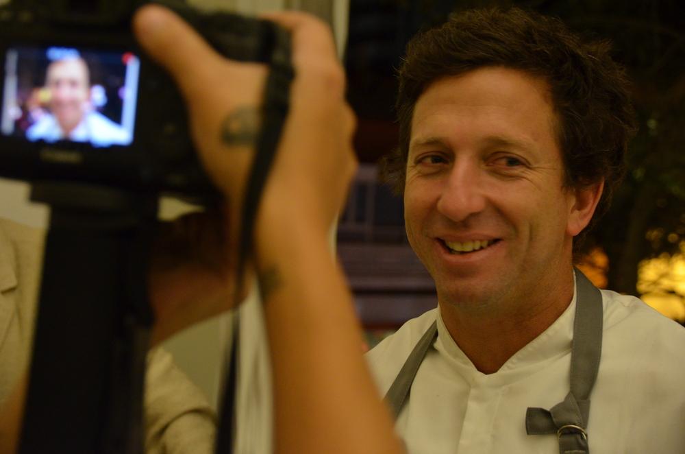 Diego Muñoz, el hombre al mando de la cocina de Astrid & Gastón Casa Moreyra. Otro peruano que conforma el equipo del restaurante hace varios años.