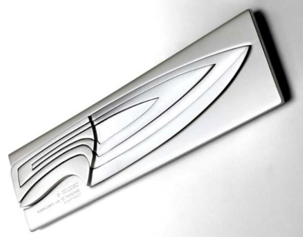 Set de Cuchillos en acero inoxidable de  Thiers-Issard France