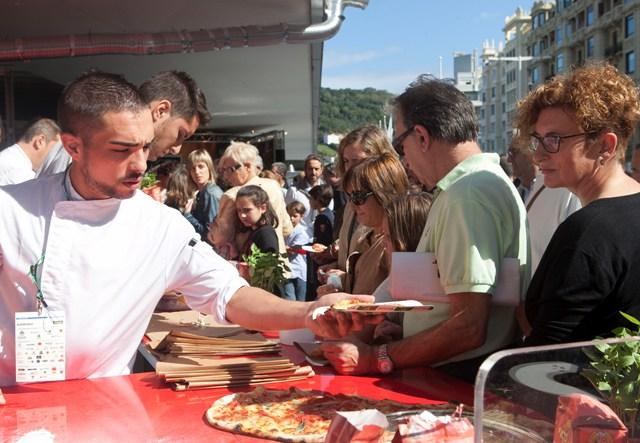 Sabores de Italia en la inauguración