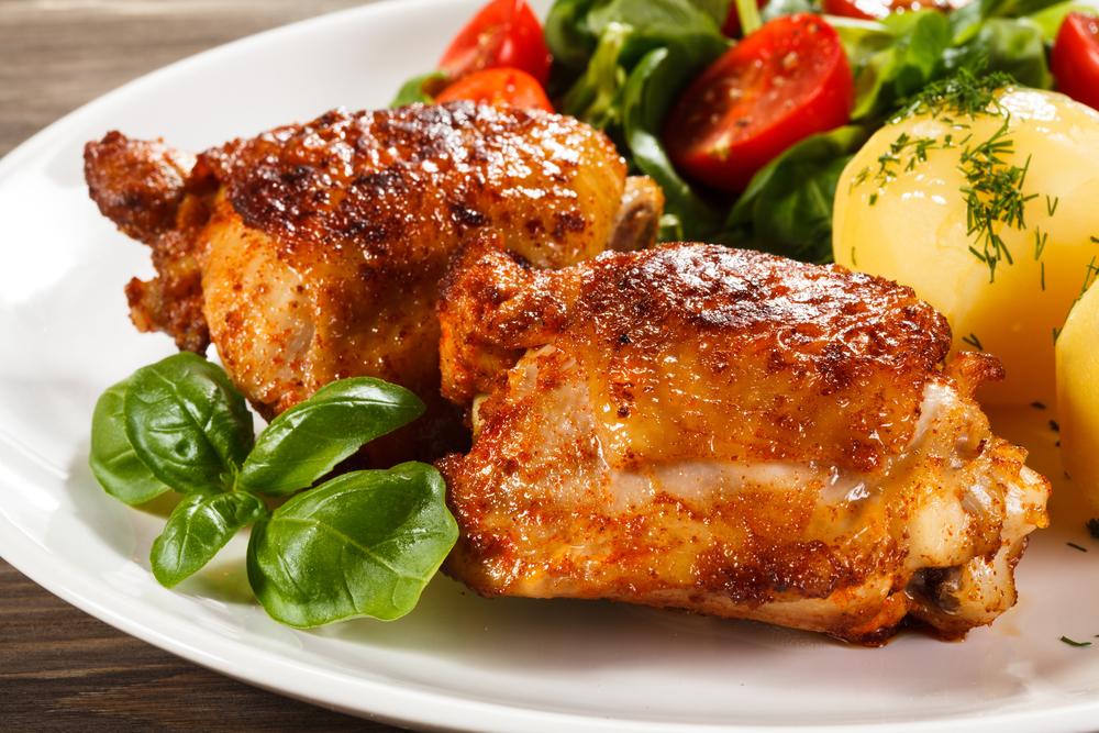 receta de pollo con miel