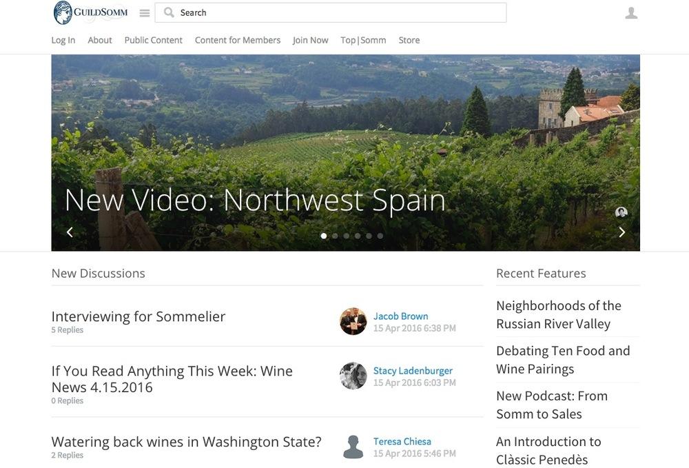 si quieres aprender mucho ms acerca del mundo del vino la comunidad virtual guildsomm es una buena opcin aqu encontrars contenidos para estar al da