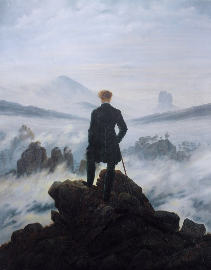 The Wanderer Above the Sea of Fog      Caspar David Friedrich