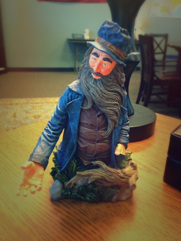 "Miniature bust of J.R.R. Tolkien's ""Tom Bombadil"""