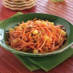 Delicious Roasted Pineapple & Carrot Salad