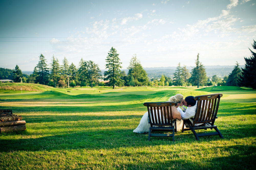 Rolling Greens at The Aerie at Eagle Landing - Wedding Venues Happy Valley, Oregon