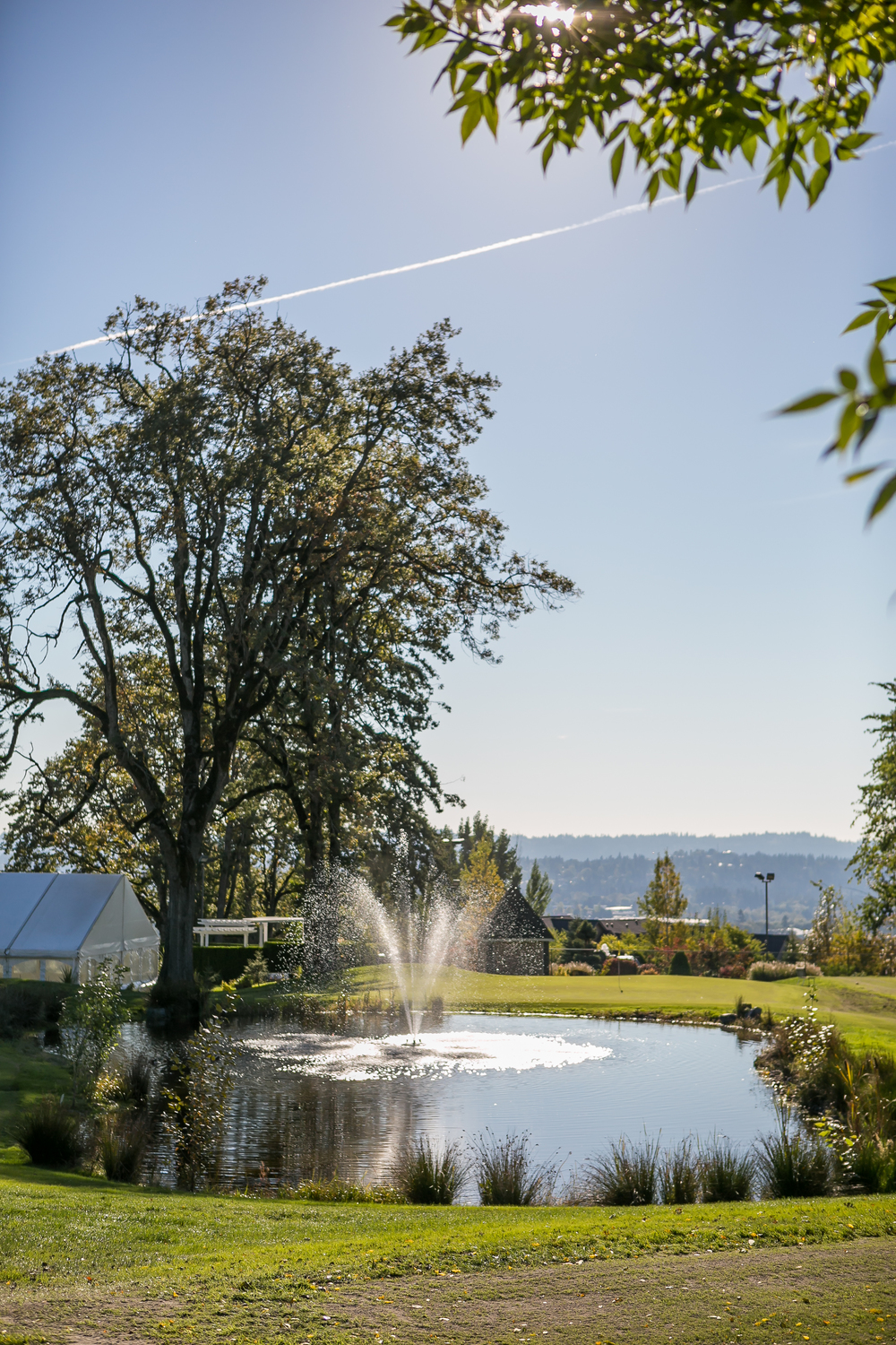 A Venue Overlooking the Mountains at The Aerie at Eagle Landing - Wedding Venues Happy Valley, Oregon