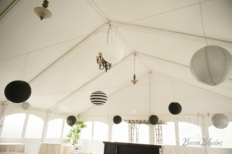 Hanging Lantern Wedding Reception at The Aerie at Eagle Landing - Wedding Venues Happy Valley, Oregon