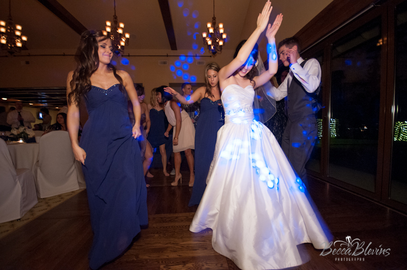 Fun Night of Dancing in The Grand Ballroom at The Aerie at Eagle Landing - Wedding Venue Happy Valley, Oregon