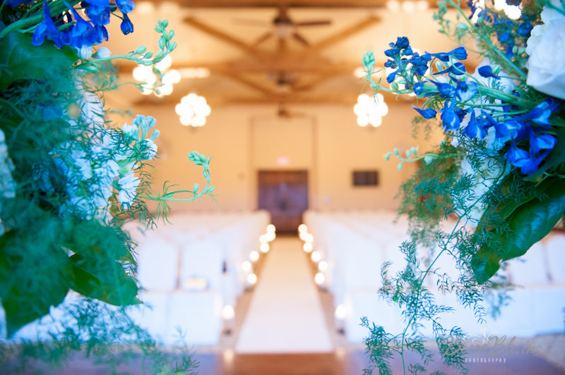 Wedding Ceremony in The Grand Ballroom at The Aerie at Eagle Landing - Wedding Venues Happy Valley, Oregon
