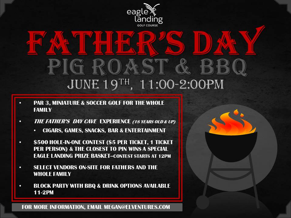 Join us this Father's Day! It will be a lot of fun!