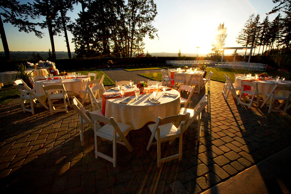 The Bellevue Garden at The Aerie at Eagle Landing - Wedding Venue Happy Valley, Oregon
