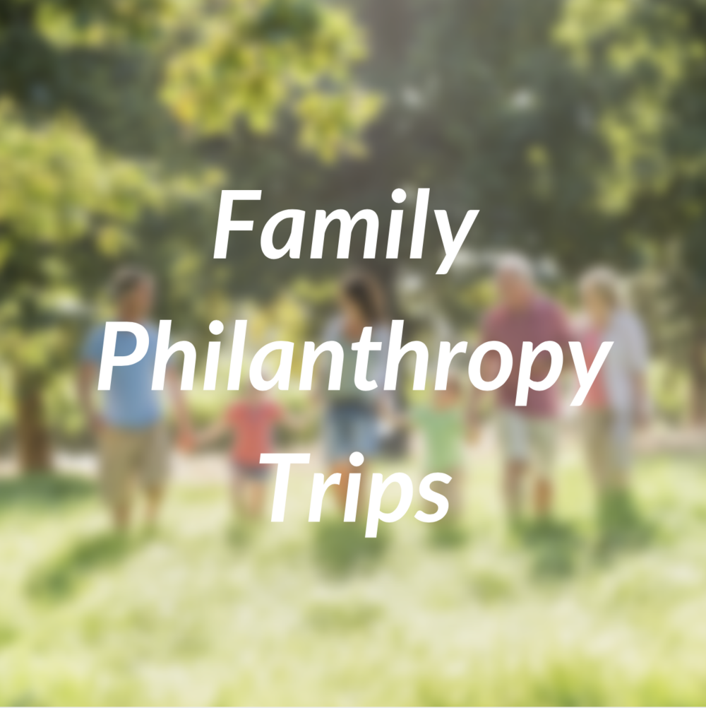 Family Philanthropy Trips