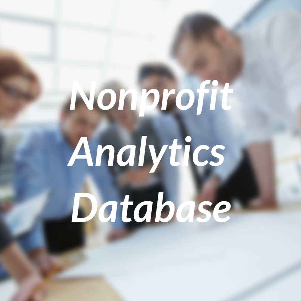 Nonprofit Analytics Database
