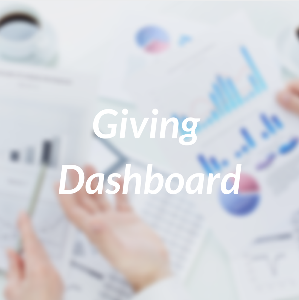 Giving Dashboard