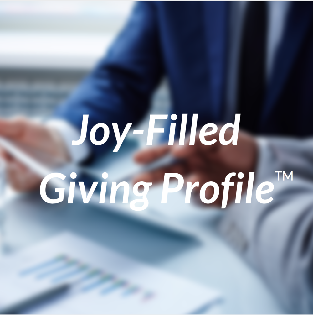 Joy-Filled Giving Profile