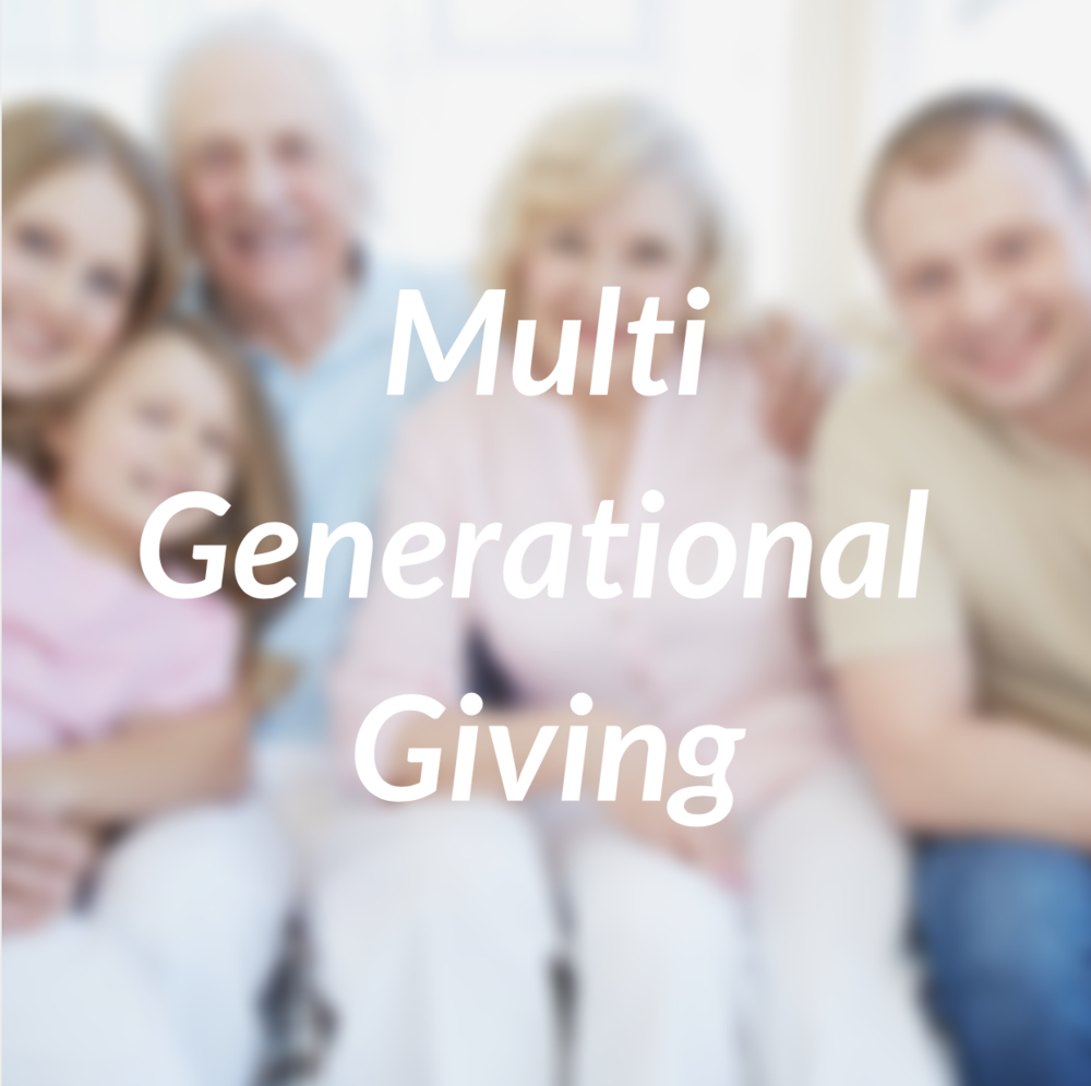 Multi Generational Giving